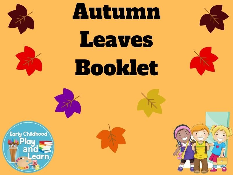 Colourful Autumn Leaves Book UK Spelling