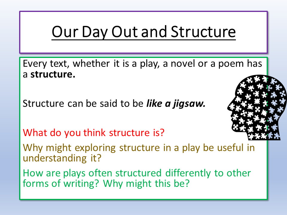 Our Day Out Structure