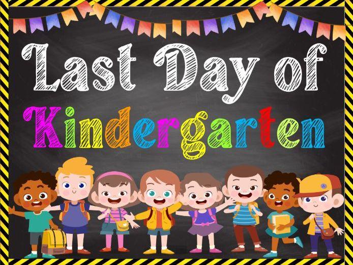FREE- Last Day of School Sign for Preschool, Kindergarten to 5th Grade