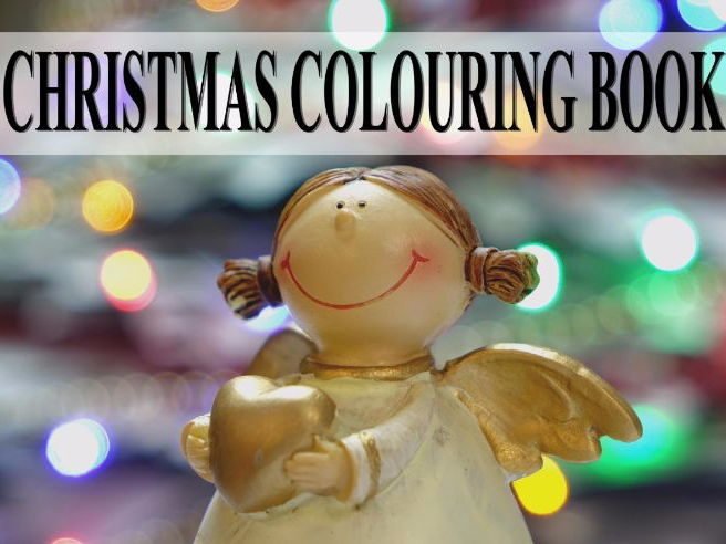 Christmas Art Christmas Colouring Book - Traditional & Modern Images for All Ages