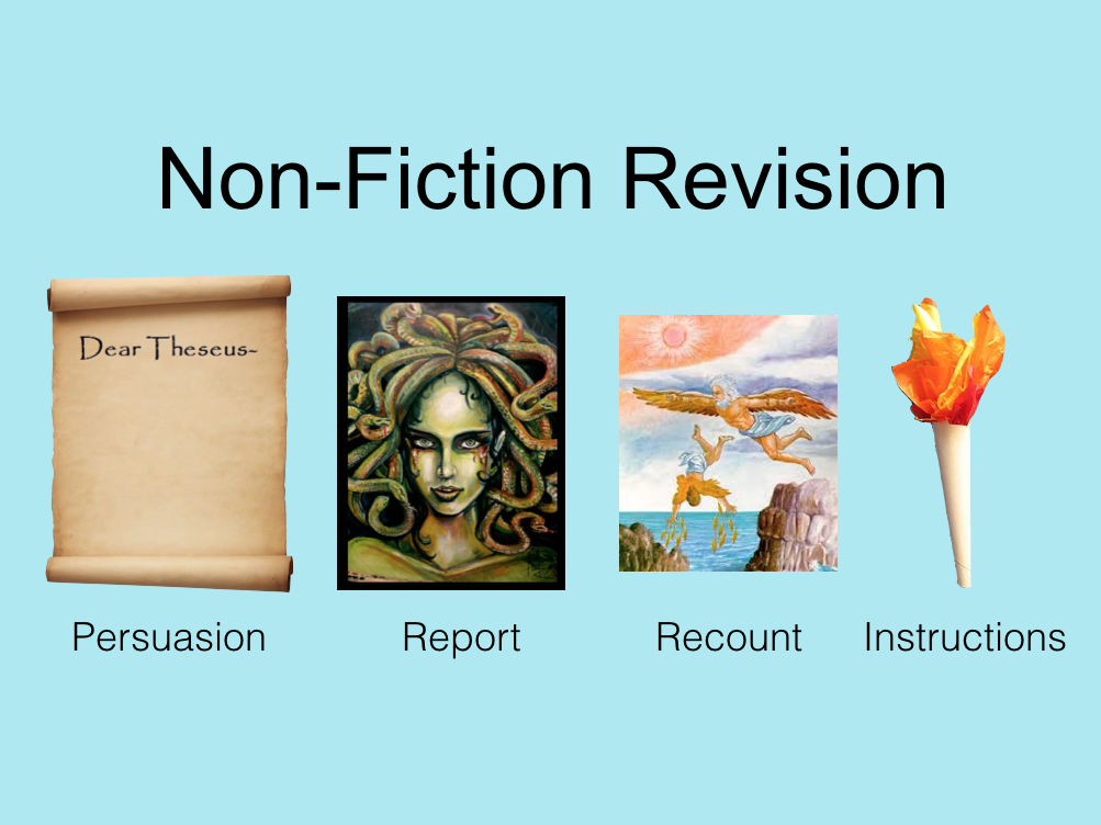 Ancient Greeks Non-Fiction Revision