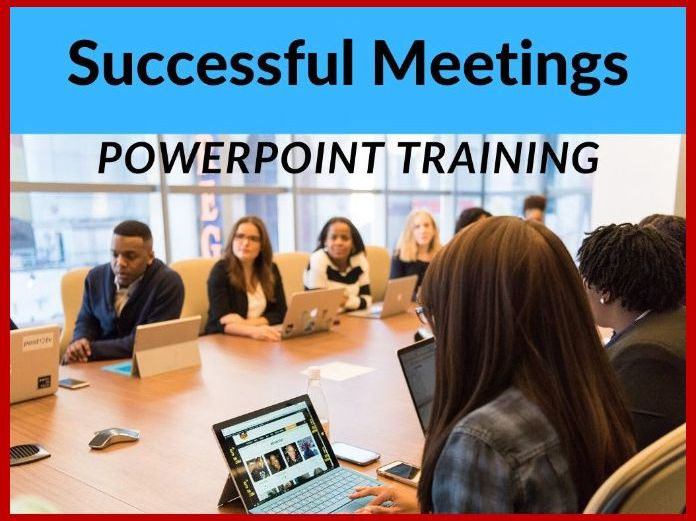 Successful Meetings PowerPoint Training Presentation
