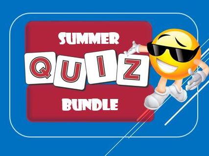 Summer 2017: Quiz Bundle