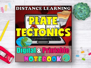 Earthquakes Earth Science Distance Learning Bundle