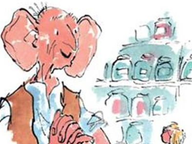 Roald Dahl & The BFG - Writing the perfect dream & nightmare recipe. KS2