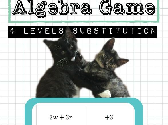 Algebra Substitution Game
