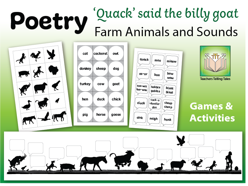 Quack said the Billy Goat - farm animals and sounds