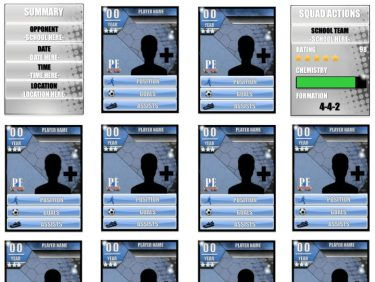 Ultimate Team Sheets – Editable Templates   PE4Learning
