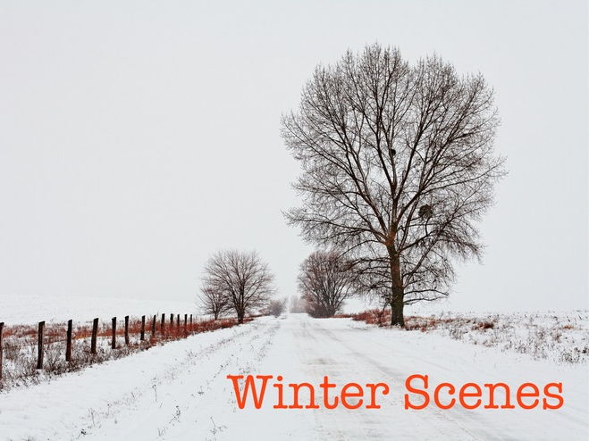 Winter - Descriptive Writing for KS2