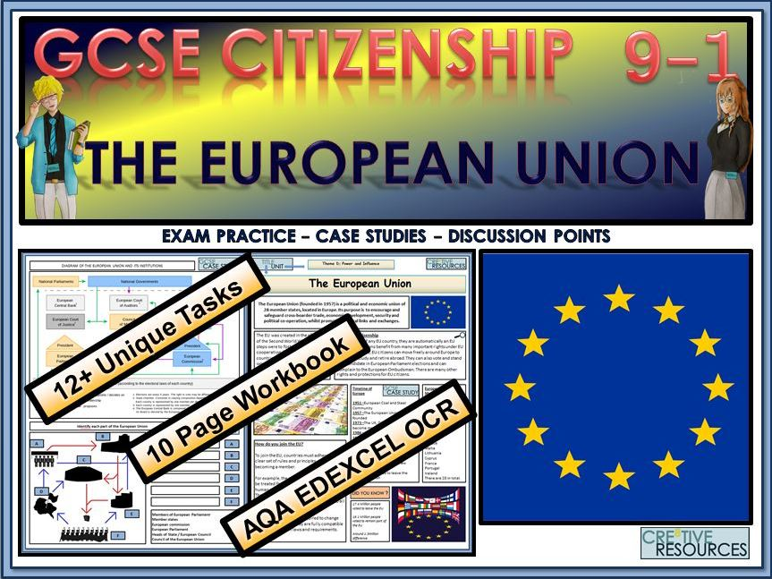 GCSE Citizenship (9-1) The European Union EU