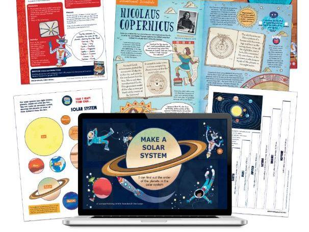 Year 5 Science:Model solar system