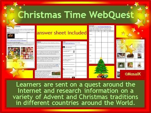 Christmas Webquest Advent