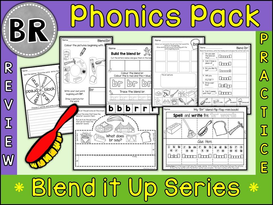 Phonics: Phonics Blend BR