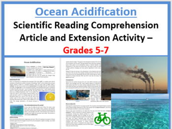 Ocean Acidification - Science Reading Article - Grades 5-7