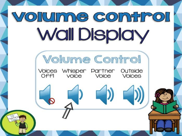 Volume Control (NZ and US Paper size) Wall Display