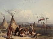 Why did the Sioux move onto the Great Plains?