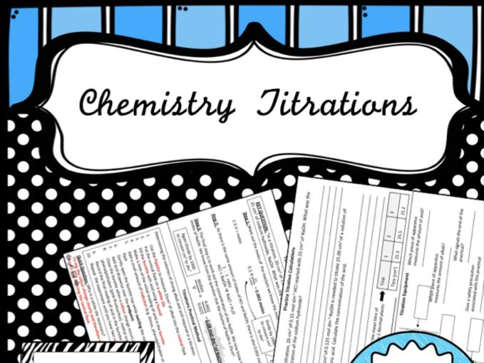 Titration Worksheet