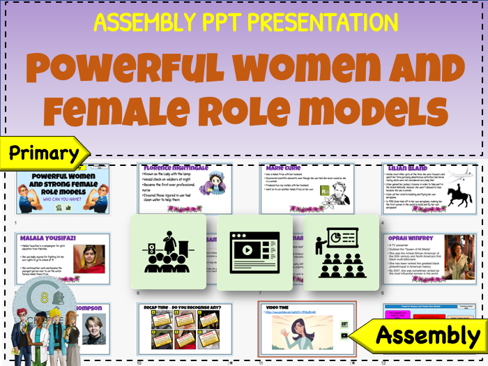 Powerful Women Female Role Models - Assembly