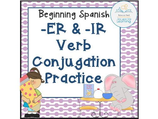 Spanish -ER and -IR Verb Conjugation practice