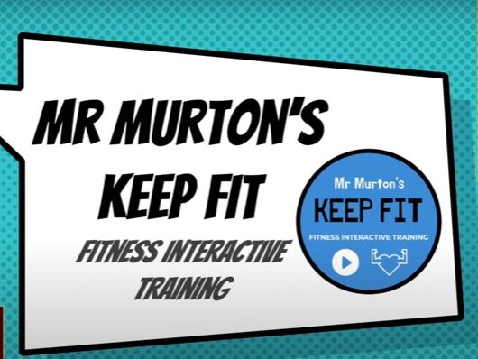 KEEP FIT: Superhero Fitness Workout 1.0 with Mr Murton
