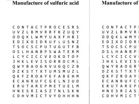 Sulfur, sulfuric acid and it's uses
