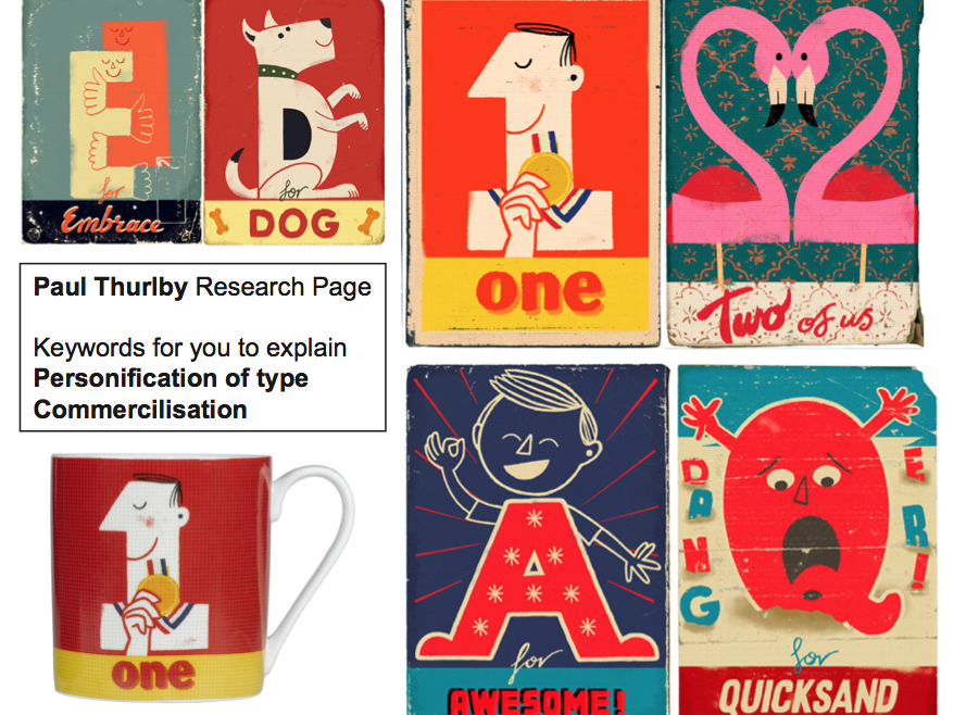 Introduction to Graphic Design Project Typography and Commercialisation L2