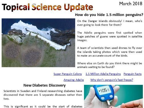 March Topical Science Update