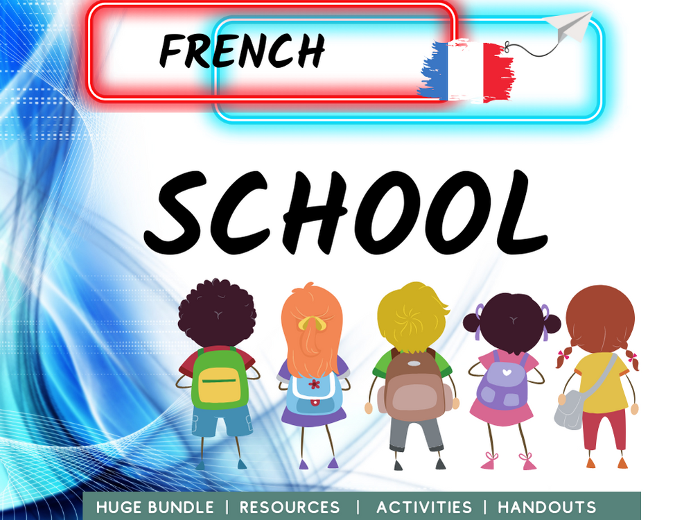 French Revision School Education