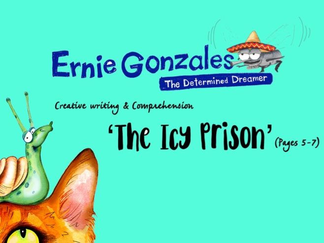 An Icy Prison - Key Stage 2 Creative Writing and Comprehension activity/lesson/scheme of work.