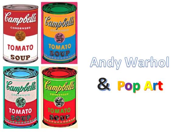 Andy Warhol Pop Art Worksheet
