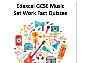 Edexcel GCSE Music 10 Question Quizzes: Spalding and Afro Celt Sound System