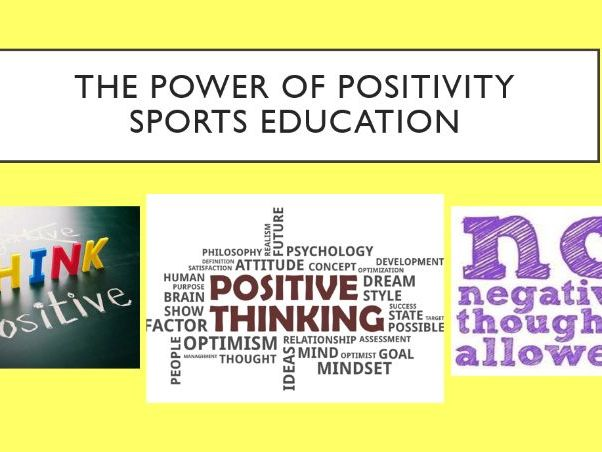 Sports Education SOW with Power of Positivity Student Developmental Theory.