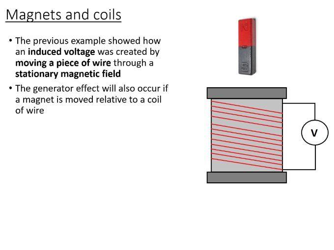 iGCSE Physics - Electromagnetic Induction (PowerPoint)