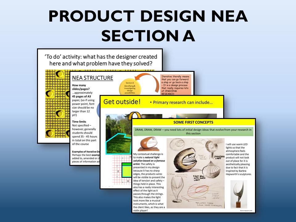 2021 AQA Product design NEA Section A