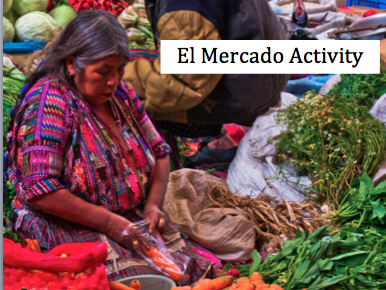 Spanish Marketplace - El Mercado Simulation