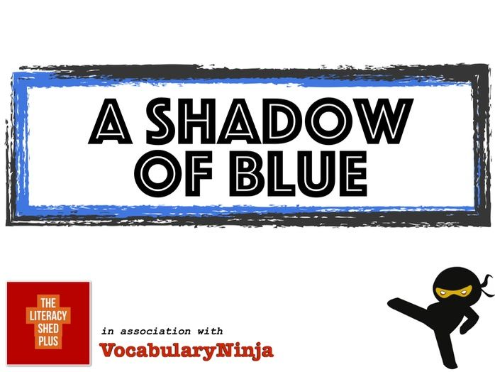 A Shadow of Blue Vocabulary Pack
