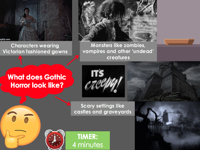 Introduction to Gothic Horror (Stage 5 - Year 9)