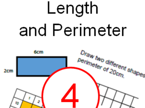 Year 4 - Autumn – Length and Perimeter - White Rose Inspired - Home/School Learning