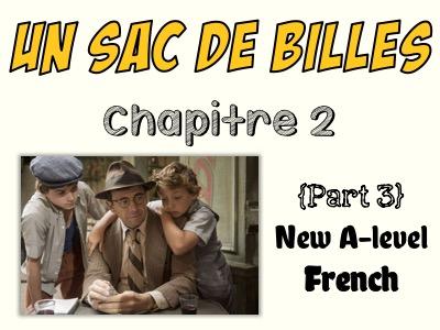 Un sac de billes - Etude du chapitre 2