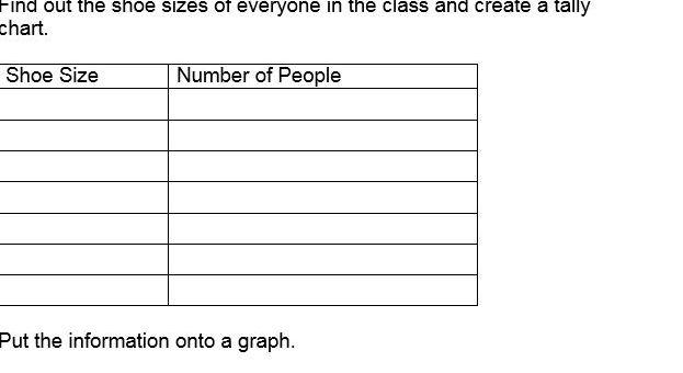 6 x differentiated Interpreting graphs workheets (inc. bar, pie, etc)