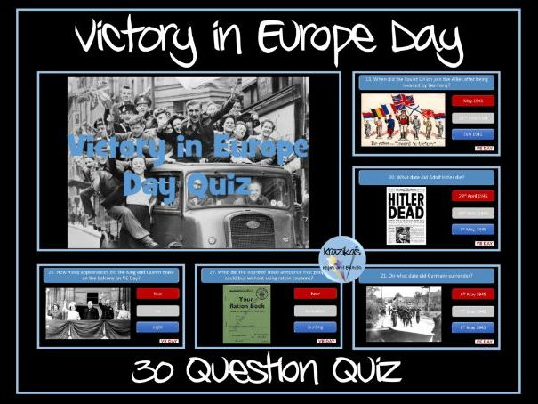 VE Day Quiz