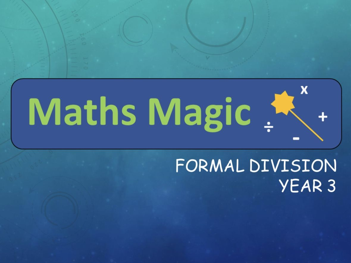 Division Formal Method  Lesson Bundle Y3