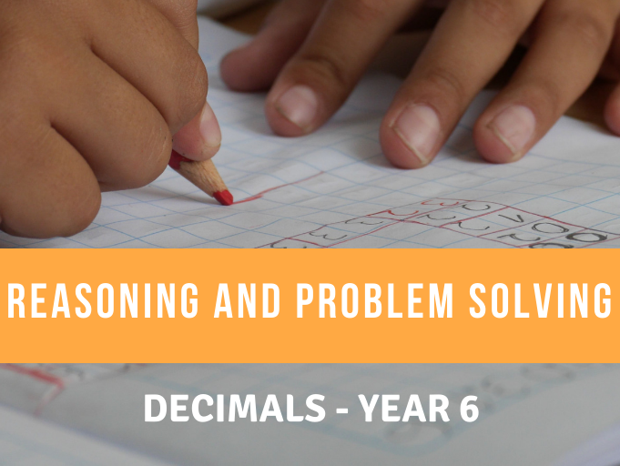 Decimals Reasoning and Problem Solving