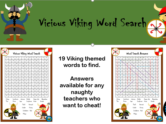 Viking Word Search