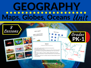 Geography: Maps, Globes, and Oceans Unit