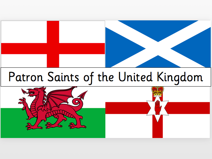 Patron Saints of the United Kingdom Presentation