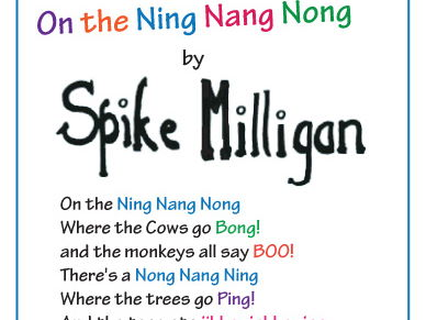 Year 5 Guided Reading Inference Activity: The Ning Nang Nong by Spike Milligan