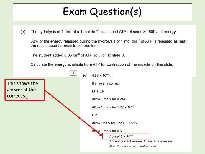 Maths Skills Biology 2- Standard Form and Significant Figures