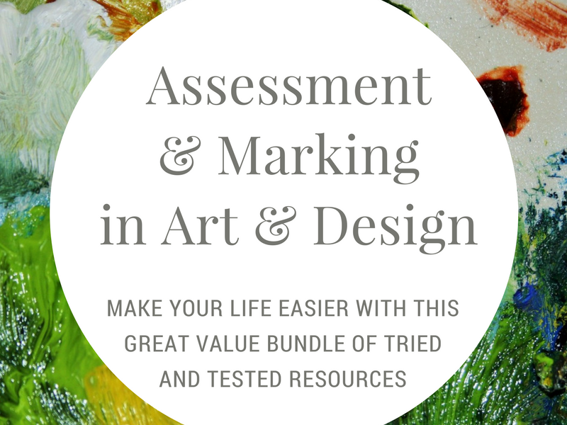 Assessment and Marking in Art & Design - worth £21.50!