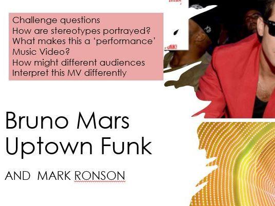 Bruno Mars Uptown Funk  Music Video